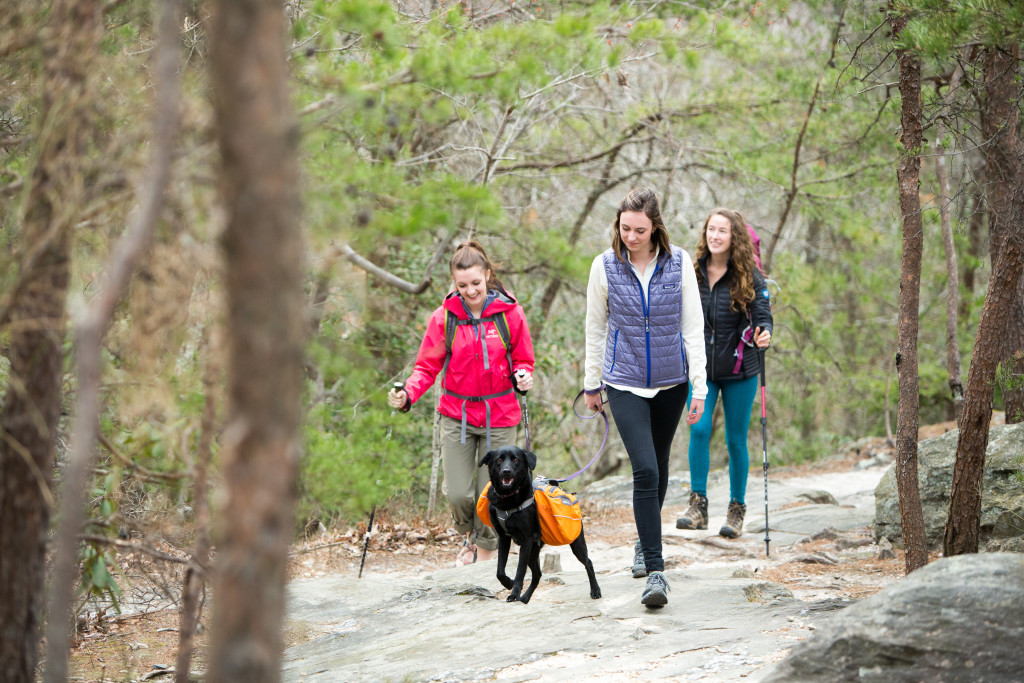 GOPC-16-CampHike-Girls-Hiking-With-Dog