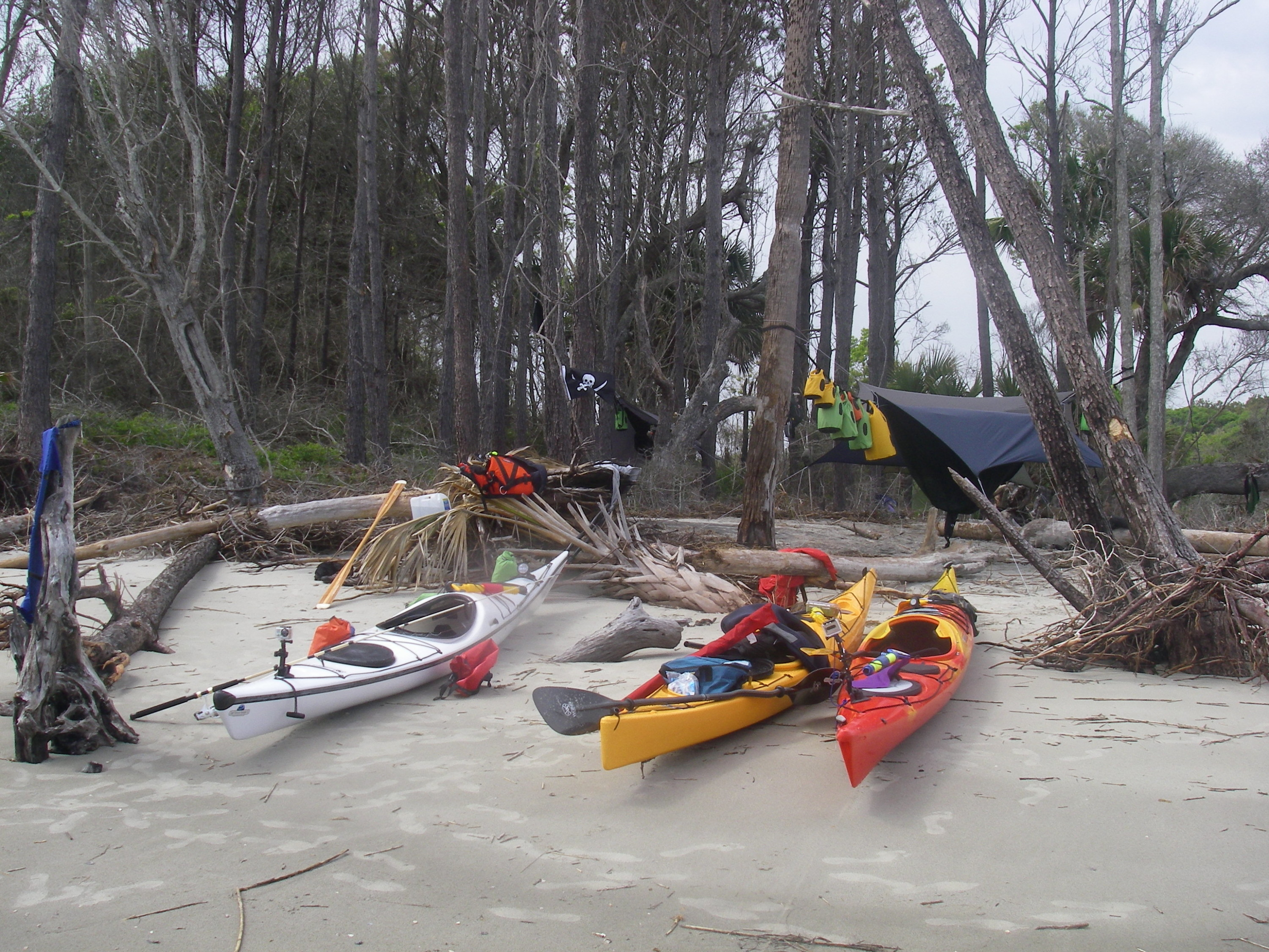 Capers Island Paddle