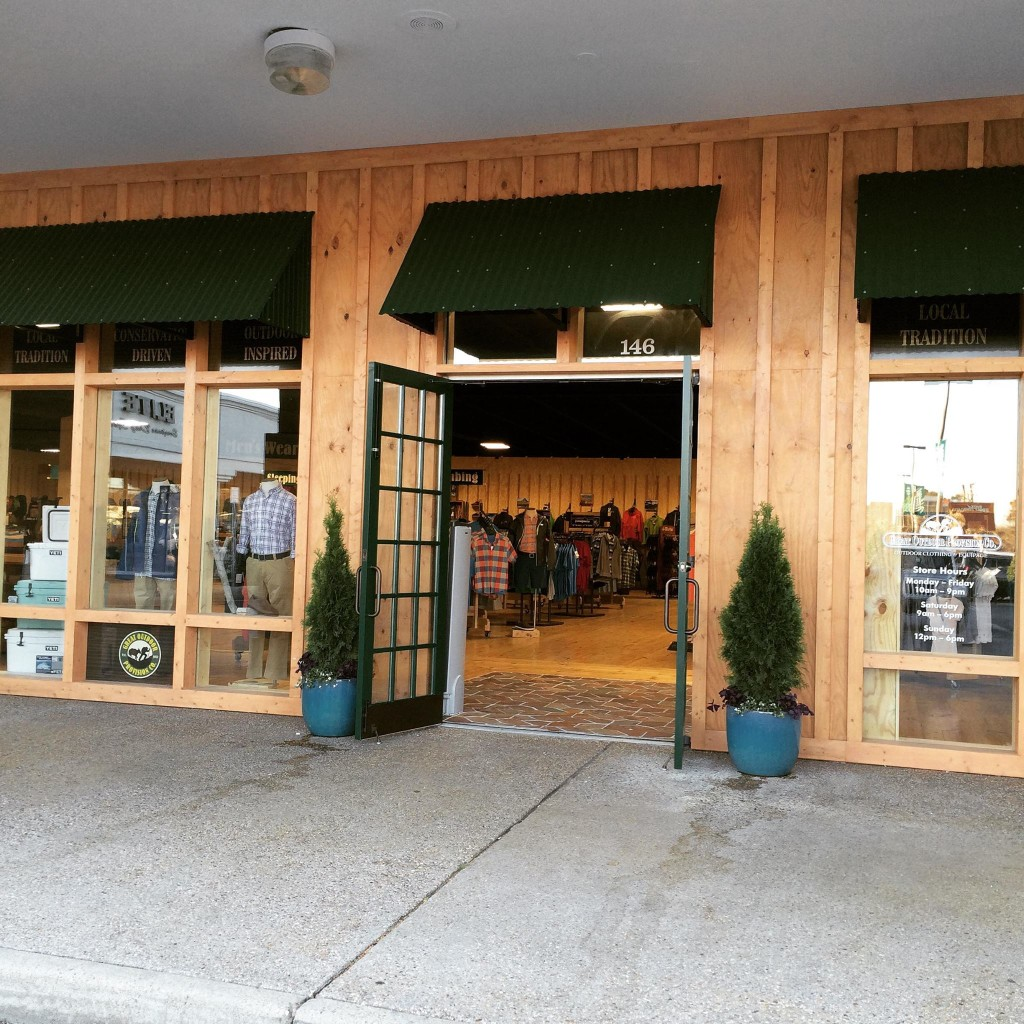 Virginia Beach Store Front Great Outdoor Provision Co