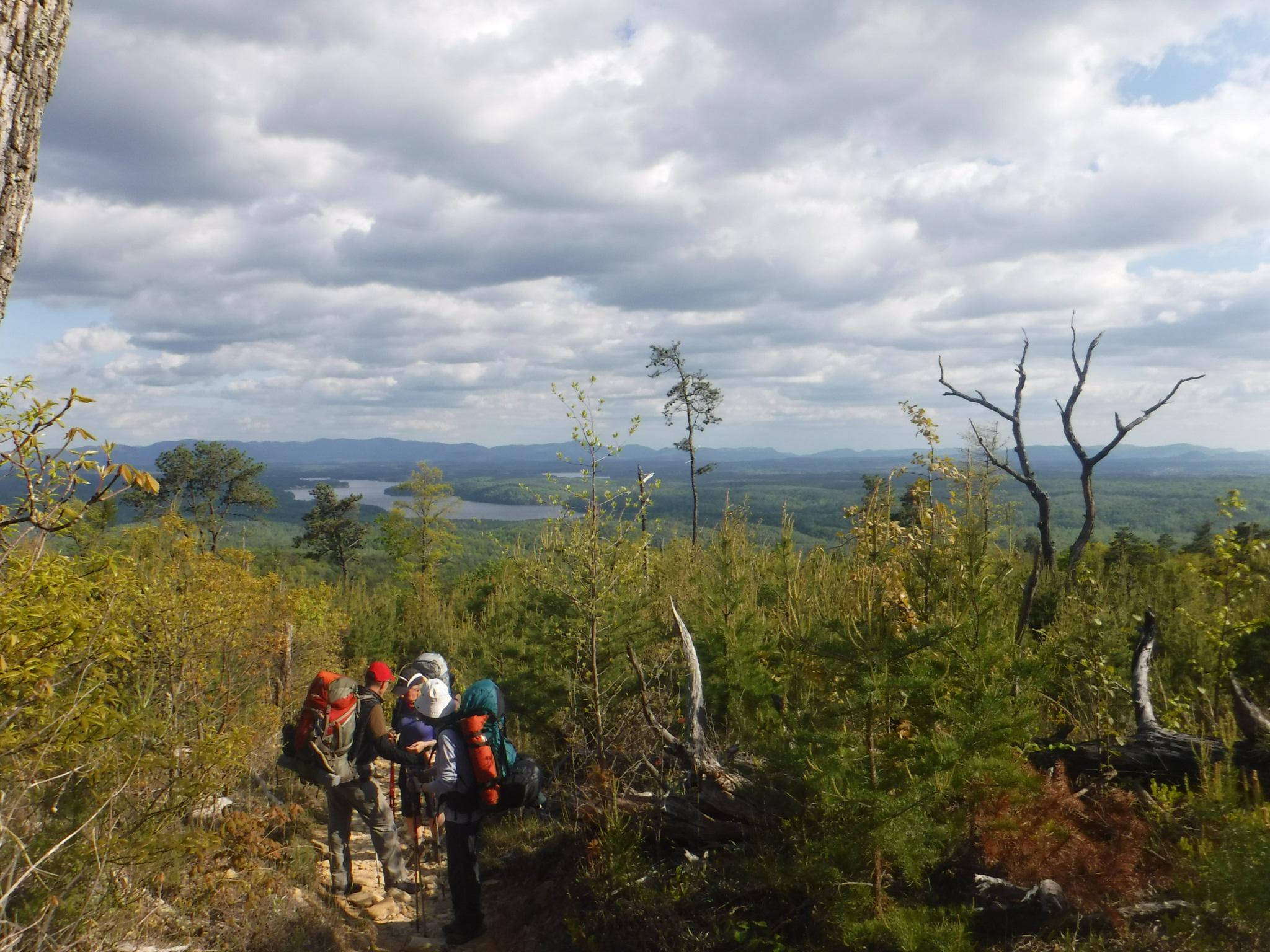 Shortoff Mountain, looking toward Lake James