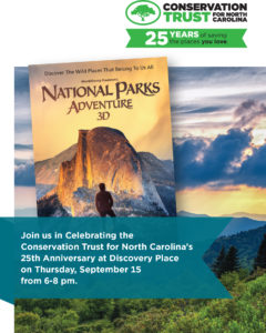 National Parks Adventure 3D w/ CTNC! @ Discovery Place  | Charlotte | North Carolina | United States