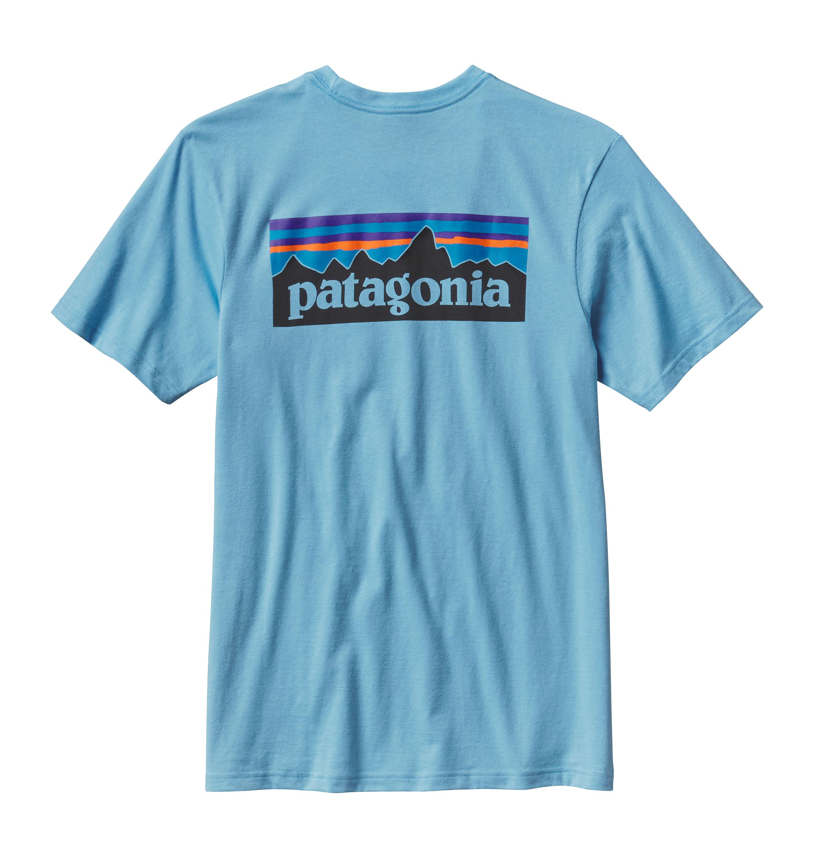 Patagonia Men S P 6 Logo Cotton Pocket T Shirt Great