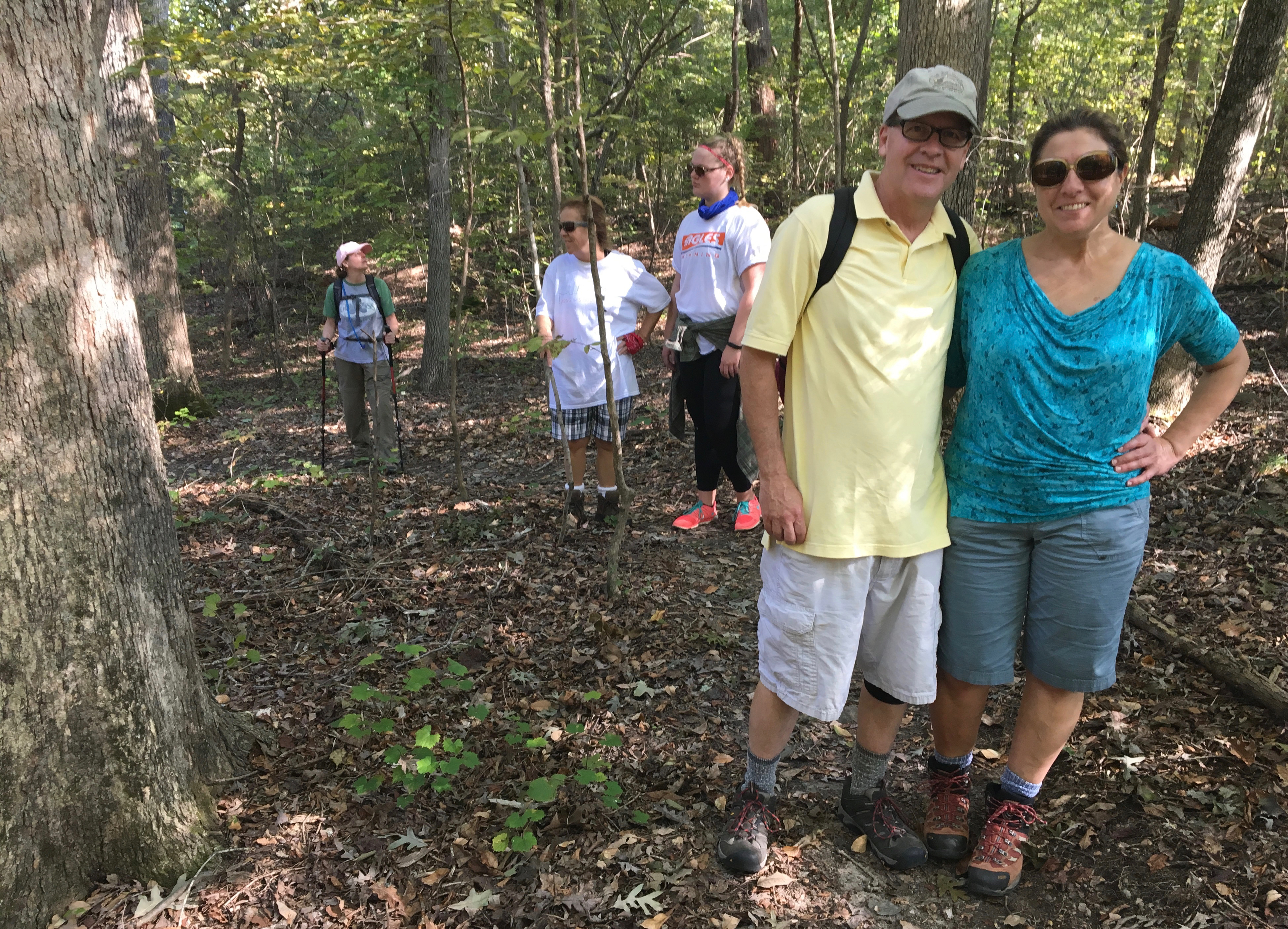 Steve Anderson, with his hiking muse, Maria Lanni