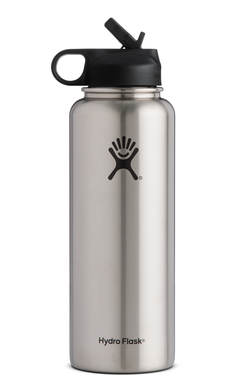 Hydro Flask 40oz Wide Mouth Insulated Water Bottle With