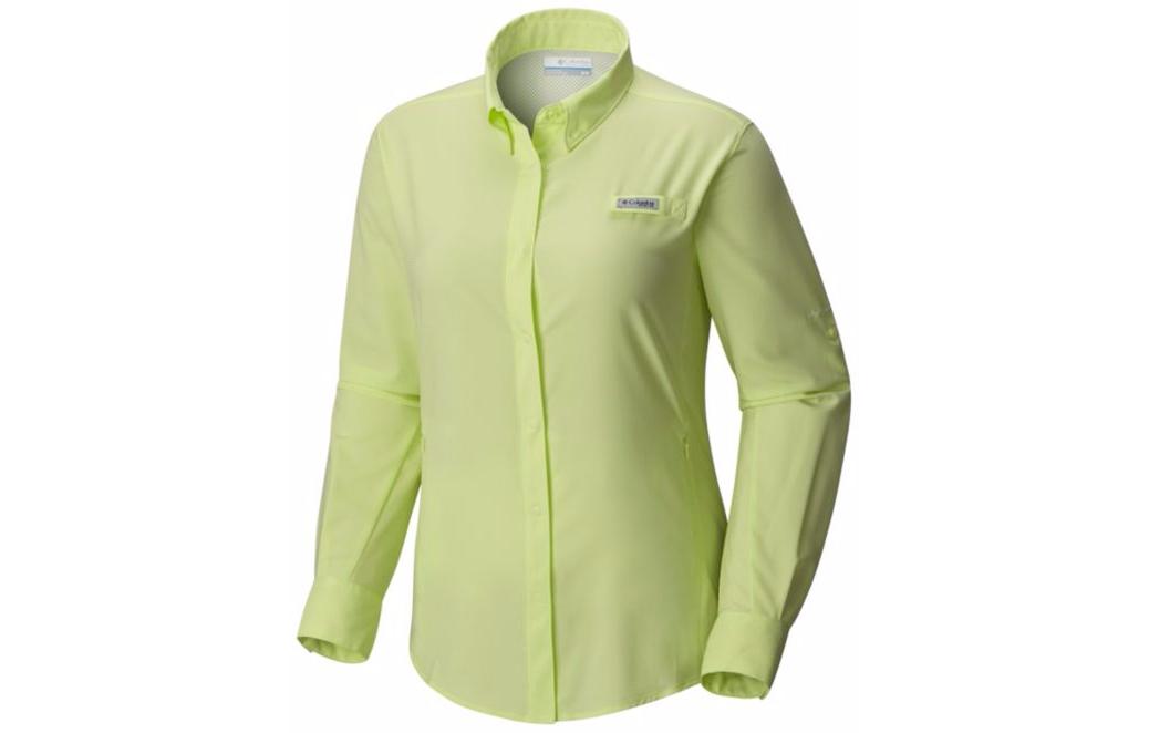 Columbia Women S Pfg Tamiami Ii Long Sleeve Shirt Great