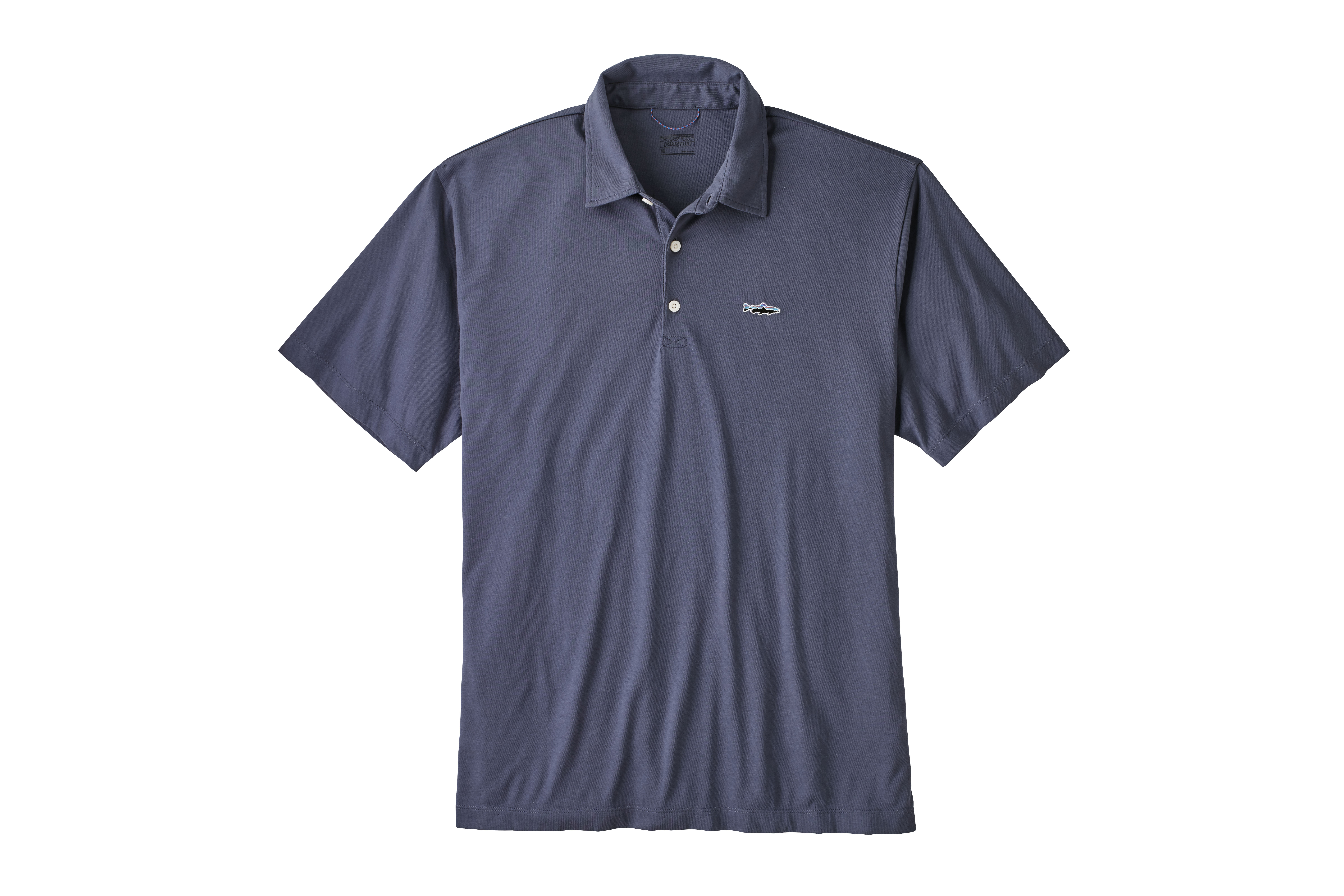 159dbe84 Patagonia Men's Polo - Trout Fitz Roy | Great Outdoor Provision Company