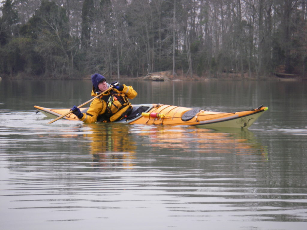 Cold weather paddling is a delight — if you're dressed for it.