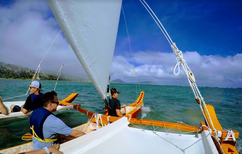Holokino Hawaii Sailing Canoe