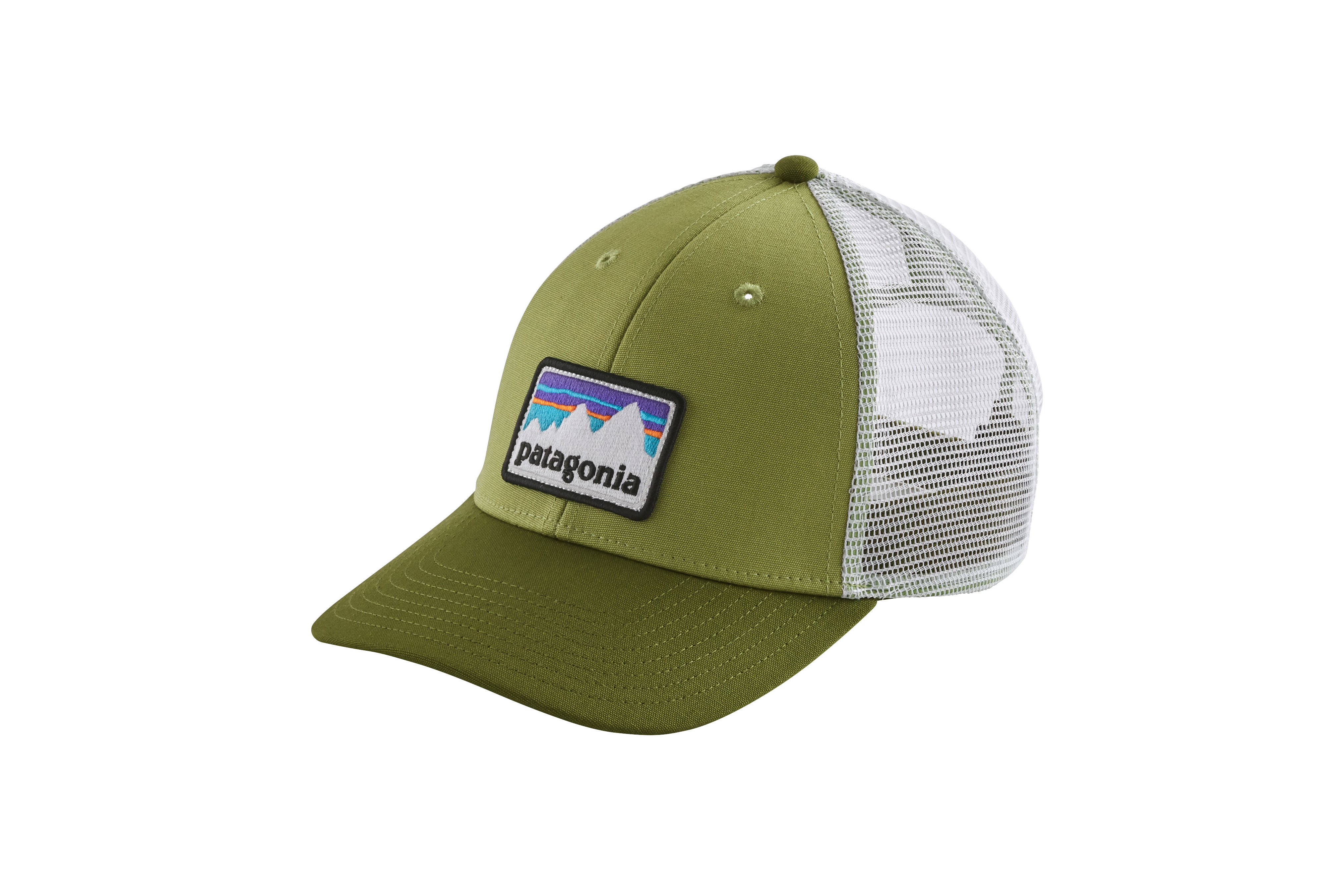 2ef859c8f2dd75 Patagonia Shop Sticker Patch LoPro Trucker Hat | Great Outdoor ...