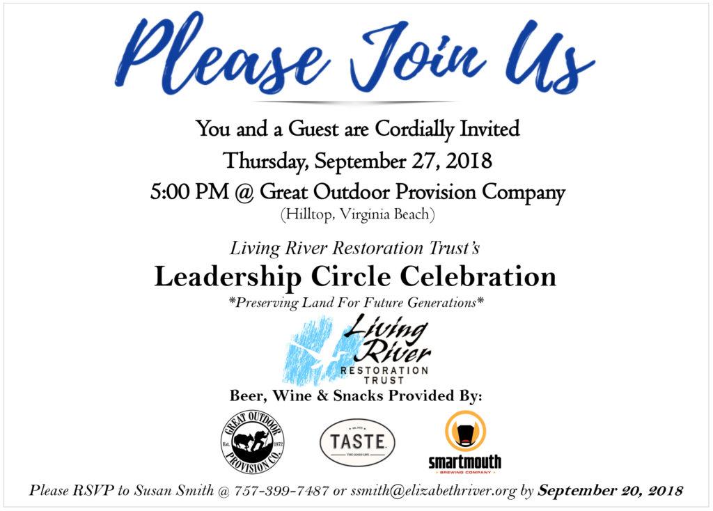 Leadership Circle Celebration | LRRT @ Virginia Beach Shop | Virginia Beach | Virginia | United States