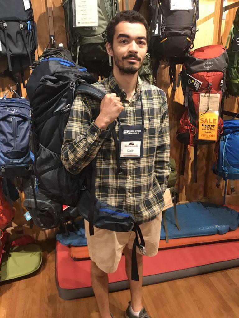 backpacking merit badge