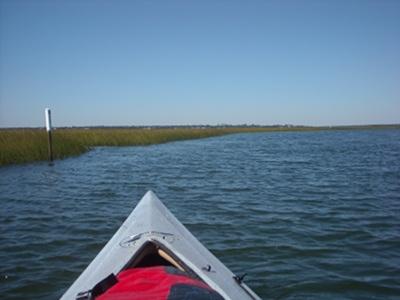 Paddle trail to Bear Island
