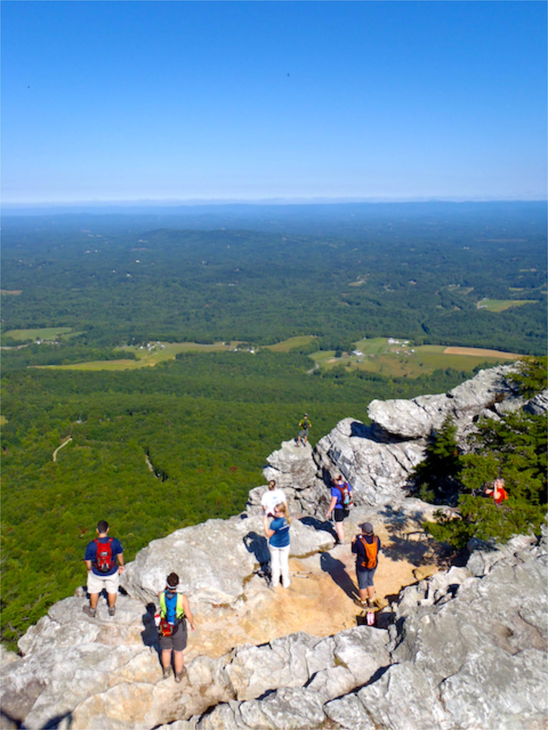 Moore's Knob, Hanging Rock State Park