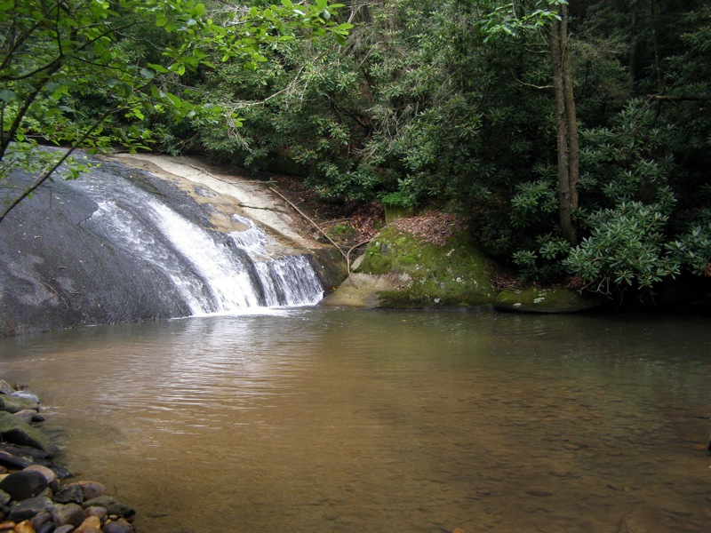 Lower Falls, Stone Mountain State Park